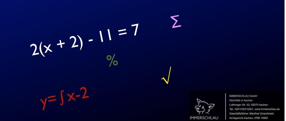 Mathe kann Spaß machen