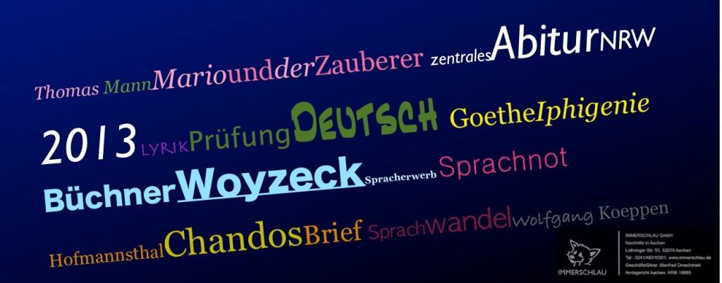 IMMERSCHLAU Abitur 2013 Deutsch