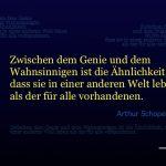 Zitat Arthur Schopenhauer