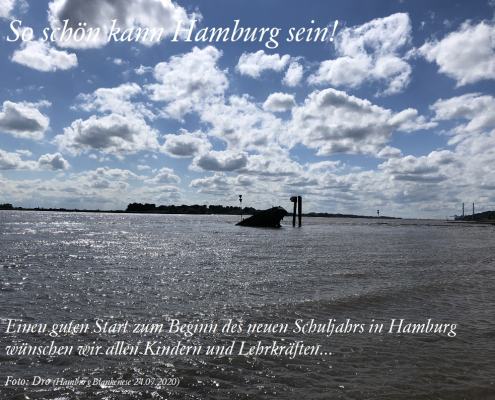 Schulstart in Hamburg 2020